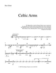 Celtic Arms: Bass Drum part by folklore, Патрик Сэрсфильд Джильмор, David Braham
