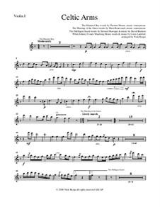 Celtic Arms: Violin 1 part by folklore, Патрик Сэрсфильд Джильмор, David Braham