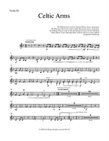 Celtic Arms: Violin 3 part (optional) by folklore, Патрик Сэрсфильд Джильмор, David Braham