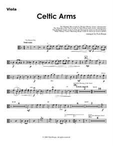 Celtic Arms: Партия альта by folklore, Патрик Сэрсфильд Джильмор, David Braham