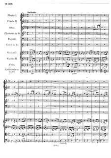 Симфония No.4 до минор 'Трагическая', D.417: Часть II by Франц Шуберт