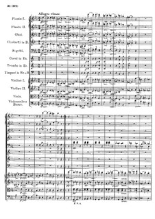 Симфония No.4 до минор 'Трагическая', D.417: Часть III by Франц Шуберт