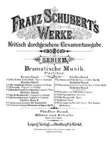 Альфонсо и Эстрелла, D.732: Акт I by Франц Шуберт