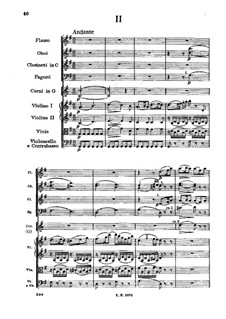 Симфония No.1 ре мажор, D.82: Часть II by Франц Шуберт