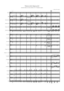 Адажио соль минор: For wind band by Томазо Альбинони