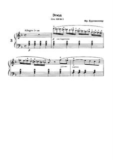 No.3: No.3 by Иоганн Фридрих Бургмюллер