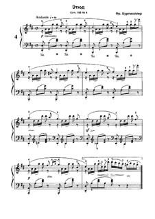 No.4: No.4 by Иоганн Фридрих Бургмюллер