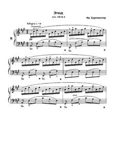 No.8: No.8 by Иоганн Фридрих Бургмюллер