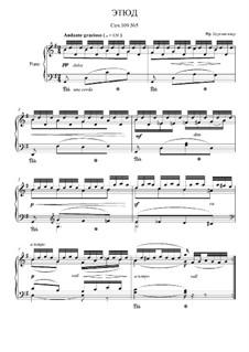 Этюд No.5: Для фортепиано by Иоганн Фридрих Бургмюллер