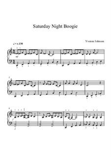 Saturday Night Boogie: Saturday Night Boogie by Yvonne Johnson