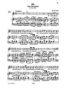 Песни для голоса и фортепиано: Том III, часть II by Франц Шуберт