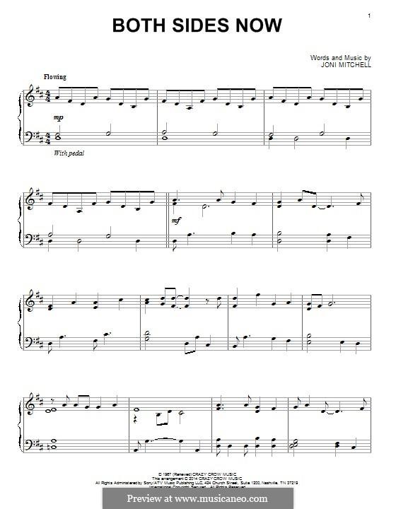 Both Sides Now: Для фортепиано by Joni Mitchell