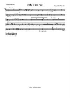 8nde Juni 793: Trombone I part by Alexander Nævdal