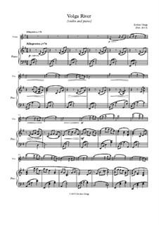 Volga River (violin and piano): Volga River (violin and piano) by Jordan Grigg