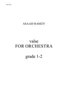 Valse: Valse by Asaad Hamzy
