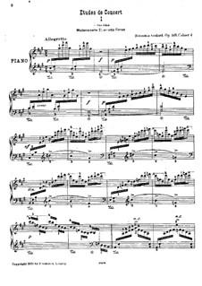 Этюды для фортепиано, Op.149: Концертные этюды (Тетрадь IV) by Бенжамин Годар
