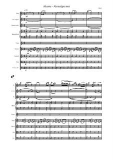 Альцеста, Wq.44: Ah malgre moi, score and parts by Кристоф Виллибальд Глюк