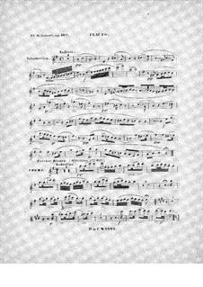 Интродукция и вариации на тему 'Trockne Blumen', D.802 Op.160: Сольная партия by Франц Шуберт