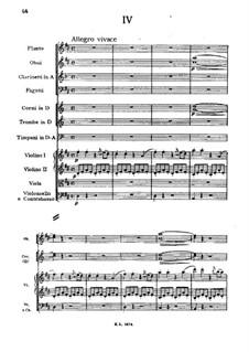 Симфония No.1 ре мажор, D.82: Часть IV by Франц Шуберт