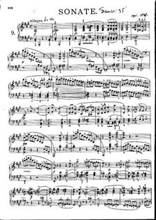 Соната для фортепиано No.20 ля мажор, D.959: Части I, II by Франц Шуберт