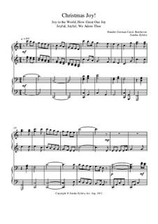 Christmas Joy!: Для фортепиано в 4 руки by Георг Фридрих Гендель, Людвиг ван Бетховен, folklore