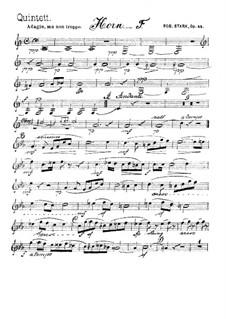 Квинтет для духовых инструментов, Op.44: Партия валторны by Роберт Штарк