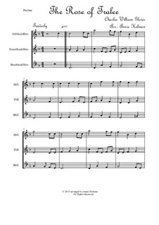 The Rose of Tralee: For trio recorders by Charles William Glover