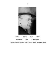 Уриэль Акоста (партитура и партии): Уриэль Акоста (партитура и партии) by Вениамин Хаэт