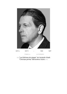 Степные ритмы (партитура и партии): Степные ритмы (партитура и партии) by Вениамин Хаэт