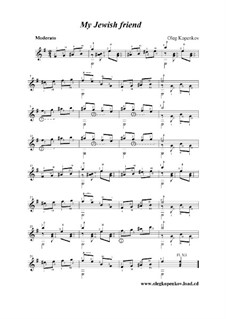 Мой еврейский друг, Op.5: Мой еврейский друг by Олег Копенков