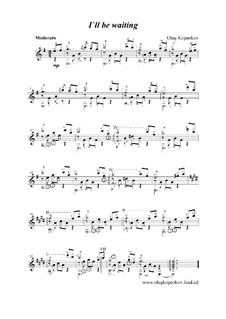 Буду ждать, Op.6: Буду ждать by Олег Копенков
