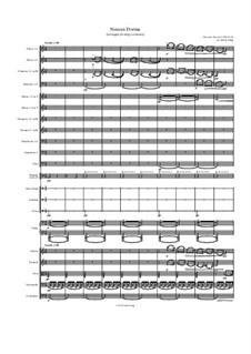 Turandot: Nessun dorma, for large orchestra by Джакомо Пуччини