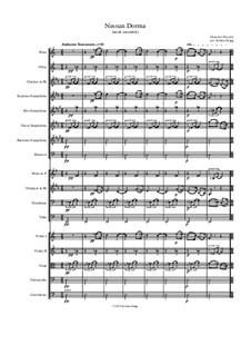 Turandot: Nessun dorma, for small ensemble by Джакомо Пуччини