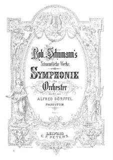 Симфония No.3 ми-бемоль мажор 'Рейнская', Op.97: Часть I by Роберт Шуман