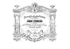 Карнавал норвежских художников, Op.14: Для фортепиано в 4 руки – партии by Юхан Свенсен