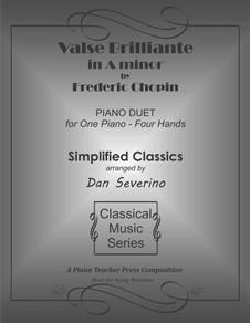 Вальсы, Op.34: No.2 in A Minor by Фредерик Шопен