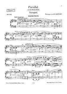 Фрагменты: Вступление, для фисгармонии и фортепиано – партия фисгармонии by Рихард Вагнер