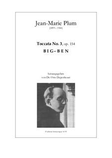 Toccata Big-Ben: Toccata Big-Ben by Jean-Marie Plum