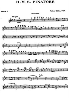 Вся опера: Партия первой скрипки by Артур Салливан