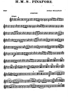 Вся опера: Партия гобоя by Артур Салливан