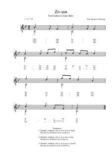 Zo-san: G-Moll by folklore