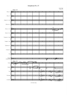 Symphony No.27: Symphony No.27 by Jordan Grigg