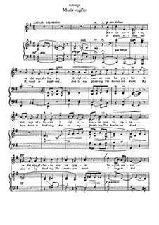Morir vogi' io: Клавир с вокальной партией (E Minor) by Эмануэле д'Асторга