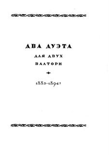 Два дуэта: Два дуэта by Николай Римский-Корсаков