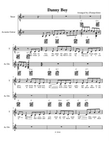 Danny Boy (Londonderry Air): Для голоса и гитары by folklore