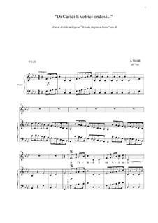 Arsilda regina di Ponto: Aria di Lisea 'Di Cariddi li vortici ondosi', atto III by Антонио Вивальди
