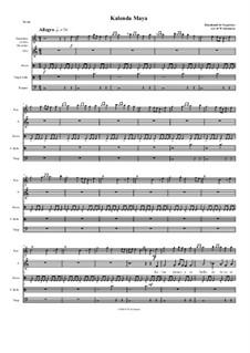 Kalenda Maya: For voice, recorder and percussion by Raimbaut de Vaqueiras