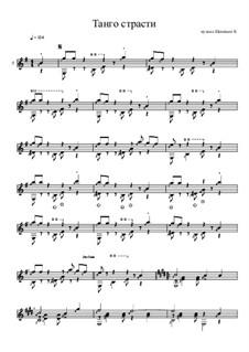 Танго страсти: Танго страсти by Константин Щеницын