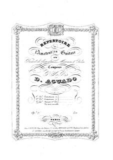 Morceaux agréables non difficiles, Op.13: No.4-9 by Дионисио Агуадо