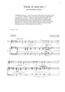 Эвридика: Gioite al canto mio (As-dur) by Джакопо Пери